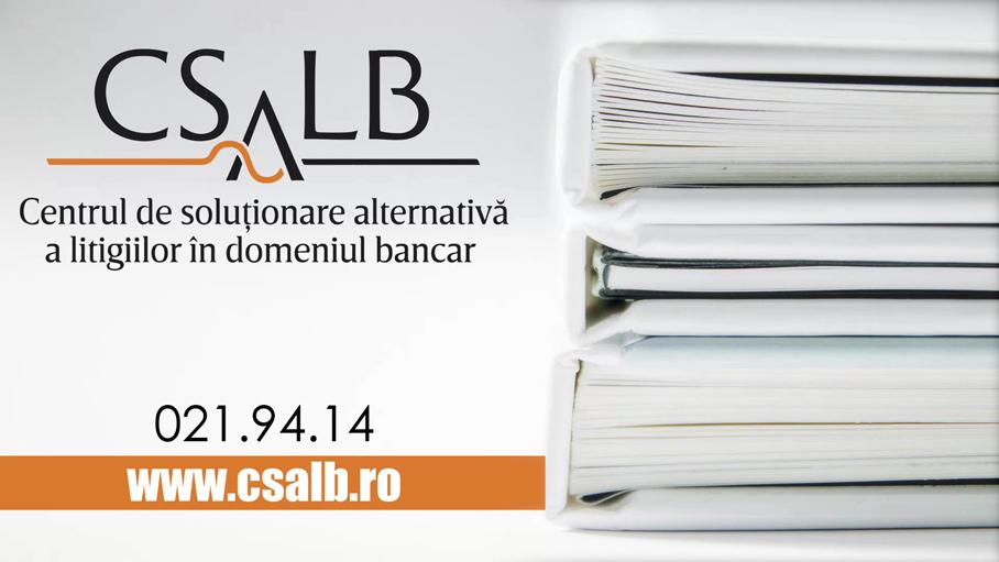 CSALB Centrul de solutionare alternativa a litigiilor in domeniul bancar